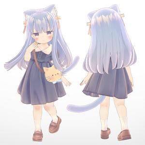 オリジナル3Dモデル「うみ -Umi-」
