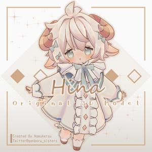 【オリジナル3Dモデル】Hina -ヒナ-