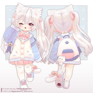 【オリジナル3Dモデル】mia -ミア-