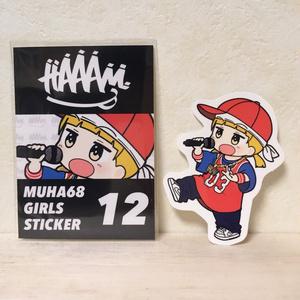 MUHA68 GIRLS STICKER 12