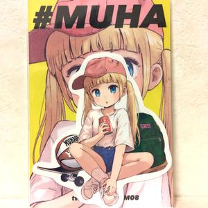 #MUHA STICKER