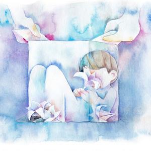 [原画]百合の咲く部屋