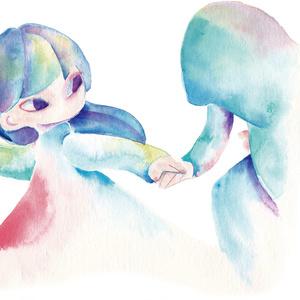 白い庭 -3(原画)