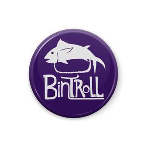 【BinTRoLL】ロゴ缶バッジ - 25mm