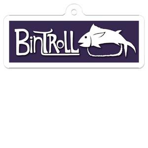 【BinTRoLL】ロゴアクリルキーホルダー