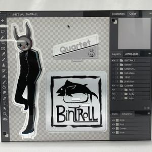 【BinTRoLL】かるてっとアクリルスタンド