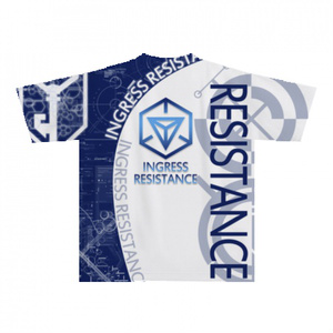 INGRESS レジスタンス 全面前後プリントTシャツ 「 RES-PRIME 」 完全受注生産 納期2週間
