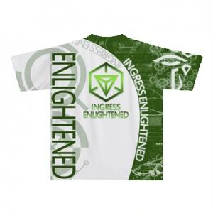 INGRESS エンライテンド 全面前後プリントTシャツ 「 ENL-PRIME 」 完全受注生産 納期2週間
