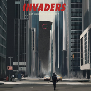 INVADERS レッド