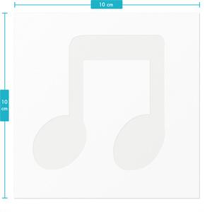 らんまるスタンプ(8分音符たち)