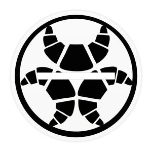 黒髪らんまるちゃん「キーボード」アクリルフィギュア100x100mm