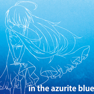 in the azurite blue