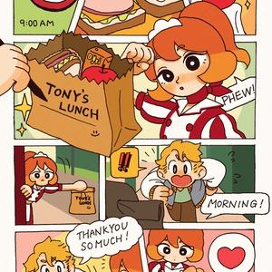 コミック風ポストカード