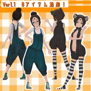 「三つ目ちゃん」 Ver1.1 オリジナル3Dモデル