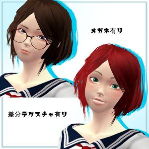 「KOKO」Ver1.0 オリジナル3Dモデル