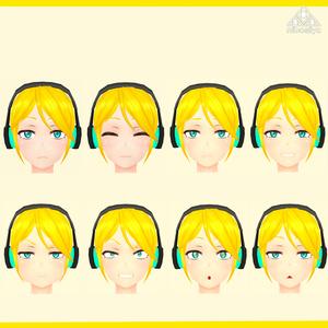 「スカジャン娘」Ver1.0 オリジナル3Dモデル