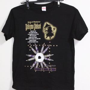 東方弾幕Tシャツ 八雲紫 金白