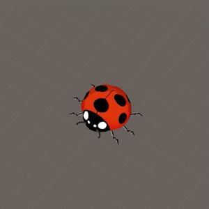 ちょっと動くてんとう虫