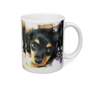 ミニチュアダックス仔犬♡マグカップ