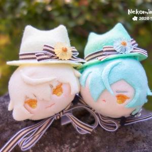 猫耳フェルト帽子(ぬいぐるみ用)