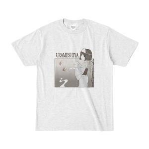 URAMESHIYATシャツ(淡)