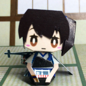 艦これ 加賀 ペーパークラフト