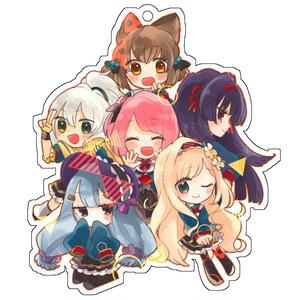 5学生&エリオちゃんアクキー
