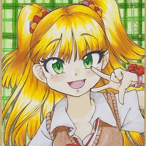 歌姫庭園20 ミニ色紙