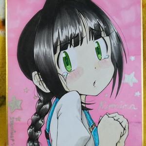 ロミナ・カラーミニ色紙(4種)