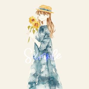 【原画】向日葵