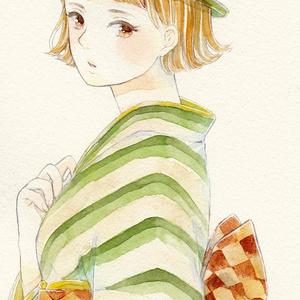 【原画】緑色少女