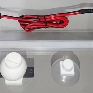 卓上高演色LEDライト 150mmと200mm カラー:白