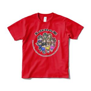LunoX Tシャツ - レッド