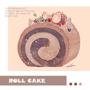 ロールケーキ ポストカードセット