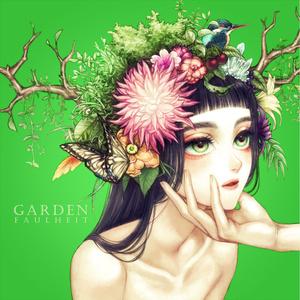 オリジナルイラスト本+CD「GARDEN」