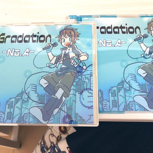 1stアルバムCD「Gradation」