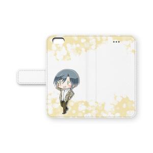ナルシスト臭【蓮きゅん】手帳型iPhoneケース
