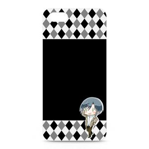 ナルシスト臭【連きゅん】iPhoneケース(黒)
