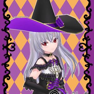◆魔女の帽子◆(2色セット)