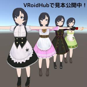 【無料VRM】ユイ / YUI【Vケット3出展 オリジナル3Dモデル】