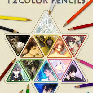 12color Pencils(色鉛筆本)