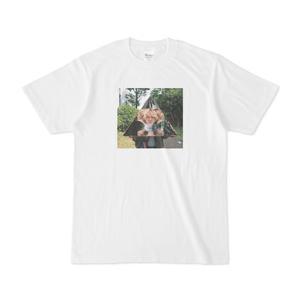 Tシャツ「顔を増やす」林雄司