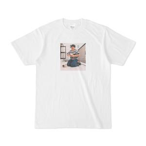 Tシャツ「下駄を自作するのに8年かけた話」江ノ島茂道