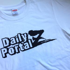 XLサイズ デイリーポータルZ ロゴTシャツ(白)