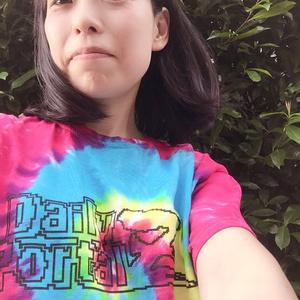 Mサイズ デイリーポータルZ ロゴTシャツ(タイダイ)