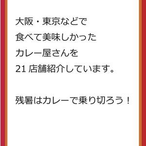 大阪・東京 カレー本 2018年上半期