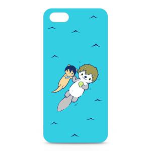 まこラッコのiPhone5ケース-White
