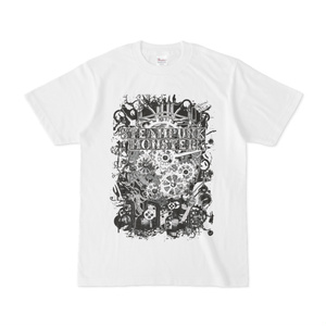 SteamPunkMonsterTシャツ(白)