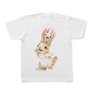 ウサギTシャツ/Rabbits T-shirt