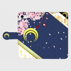 刀剣乱舞 三日月イメージ iPhone・Androidケース